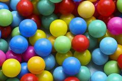 Colored balls. Amount of colored balls for children Stock Image