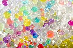 Colored balls background. Abstract background of colored bubbles Royalty Free Stock Photos