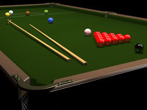 Colored balls for billiards Royalty Free Stock Photos