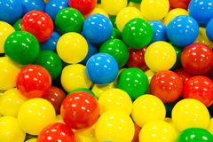 Colored Balls Pile. Colored Children Playing Balls Pile Royalty Free Stock Images