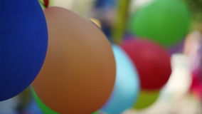 Colored Balls stock video footage