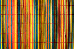 Colored bamboo cover. That can be used as a background or backdrop Royalty Free Stock Photography