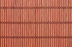 Colored bamboo mat background. Royalty Free Stock Photography