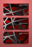 Colored banner templates. Digital background carbon. Royalty Free Stock Image
