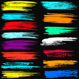 Colored banners beautiful collection for design Royalty Free Stock Images