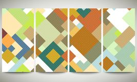 Colored banners collection, flyer layouts, vector Stock Photos