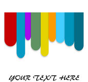 Colored bar background Royalty Free Stock Photos