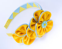 Colored barrette Stock Photography