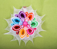 Colored barrette Stock Images