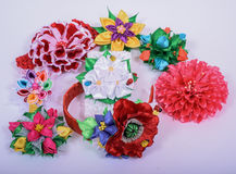 Colored barrette Stock Image