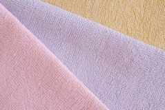 Colored bath Towel Royalty Free Stock Photos