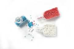 Colored bead Stock Photography
