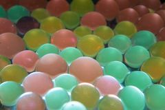 Colored beads Royalty Free Stock Photo