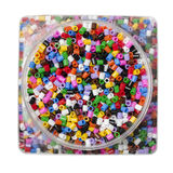 Colored beads Stock Image