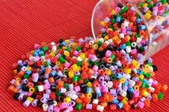 Colored beads Stock Photography
