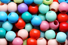 Colored beads close-up. Stock Photography