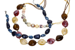 Colored beads Stock Images