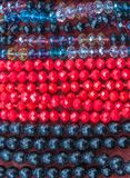 Colored beads Royalty Free Stock Image