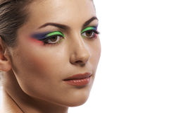 Colored beauty Stock Images