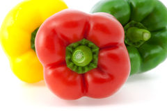 Colored Bell Peppers Stock Image