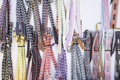 Colored belts Royalty Free Stock Photos
