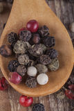 Colored Black Pepper Royalty Free Stock Image