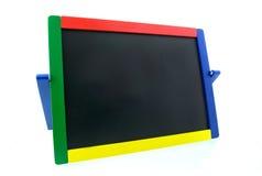 Colored blackboard. Empty Colored blackboard isolated on white background stock image