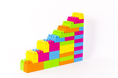 Colored blocks Royalty Free Stock Photo