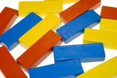 Colored blocks Stock Photos