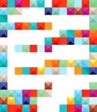Colored blocks  Royalty Free Stock Image