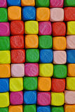 Colored blocks Stock Image