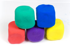 Free Colored Blocks Of Clay Stock Images - 9610354