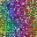Colored blocks pattern Royalty Free Stock Image