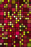 Colored blocks pattern Royalty Free Stock Images