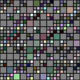 Colored blocks pattern Royalty Free Stock Photos