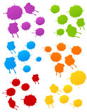 Colored blots. Vector illustration, AI file included Royalty Free Stock Photos