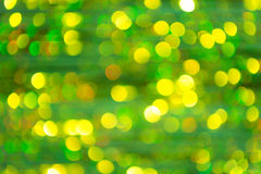 Colored of blurred lights bokeh. Christmas background Royalty Free Stock Image