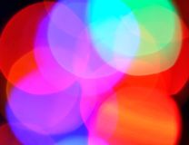 Colored blurs Royalty Free Stock Image