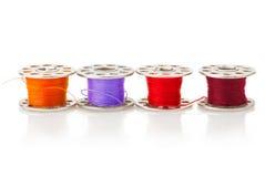 Colored bobbins Royalty Free Stock Photos