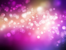 Colored bokeh. Beautiful reflections of light on colored background vector illustration