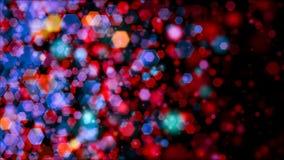 Colored bokeh backdrop Stock Photo