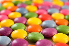 Colored bon bons background Royalty Free Stock Photography