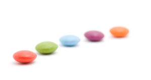 Colored bonbons Stock Images