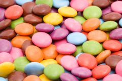 Colored bonbons Stock Photos