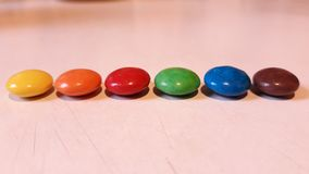 Colored bonbons Royalty Free Stock Images