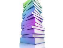 Colored Books Stock Image