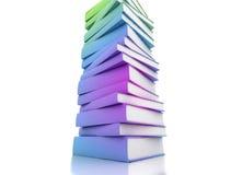 Colored Books Stock Image