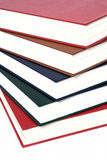 Colored books. Books closed after one other Royalty Free Stock Images