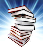 Colored books on background Royalty Free Stock Photo