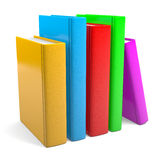 Colored Books Royalty Free Stock Images